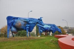 WWI:  Blue Cows and Saints