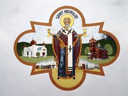 Saint Nicholas, guardian of soldiers, travelers, students, sailors and archers, and patron saint of children