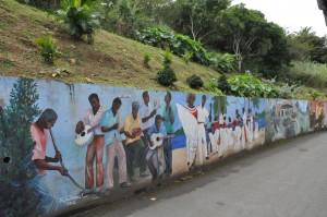 Fahie Hill murals
