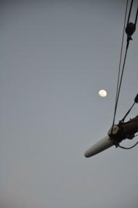 moon over yardarm