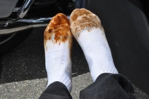 ditch-water socks