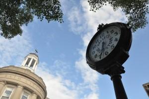 City Hall and Clock, Bath