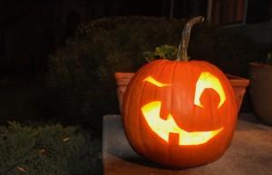 happy jack o-lantern