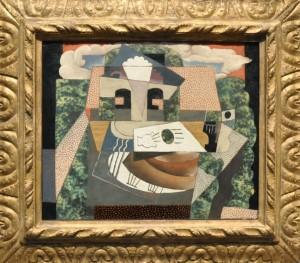Picasso, Still Life in a Landscape, 1915