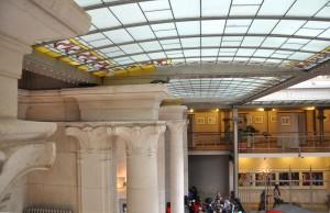 Horta's capitals and skylight