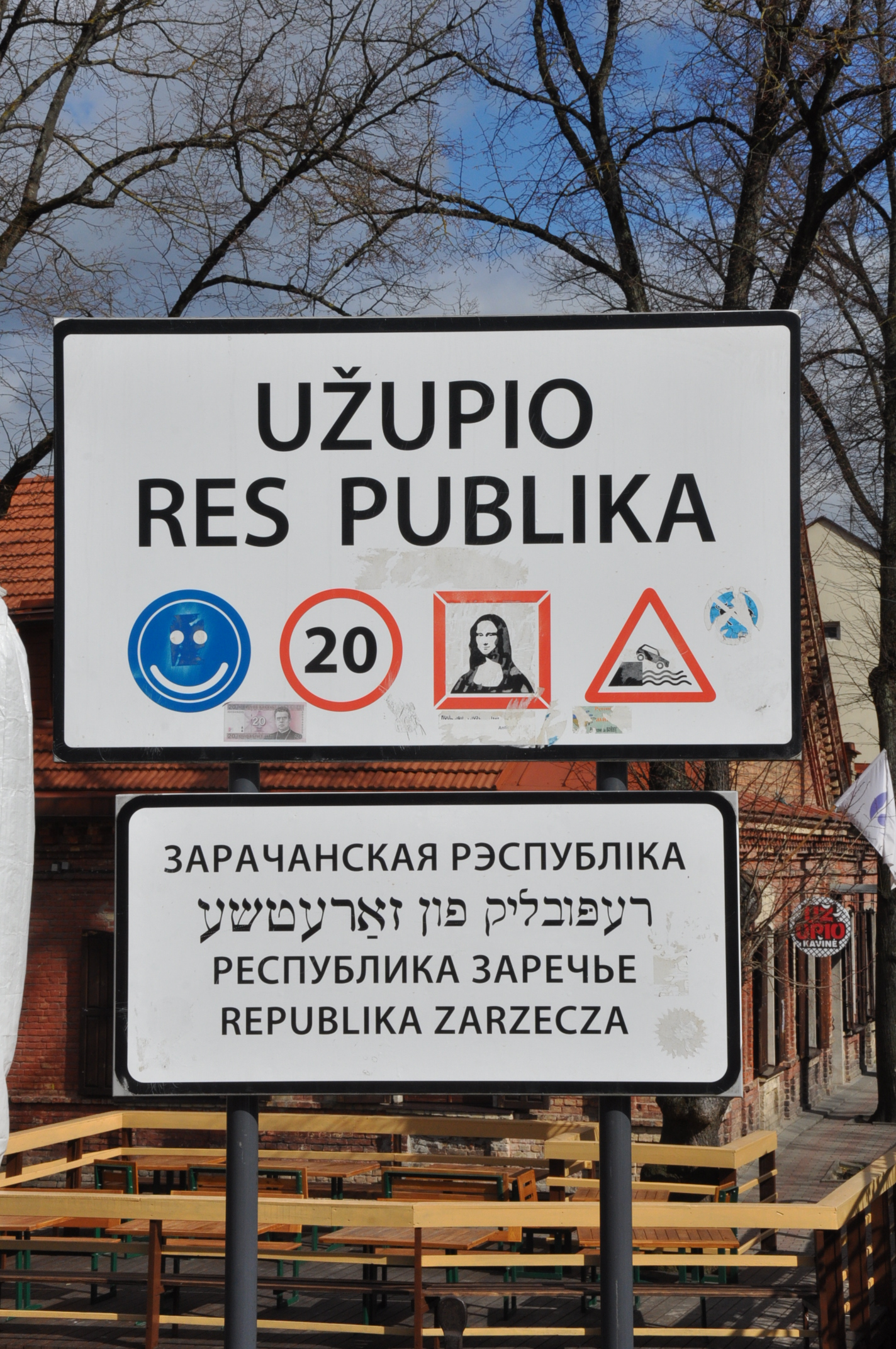 Šeima Means Family 8: The Constitution of the Republic of Užupis