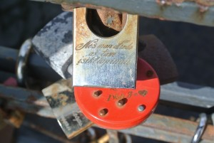 Must locks be affixed to bridges?