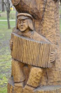 the accordian man