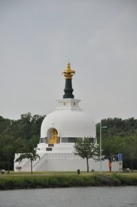 Peace Pagoda on the Danube