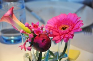 flowers on our table