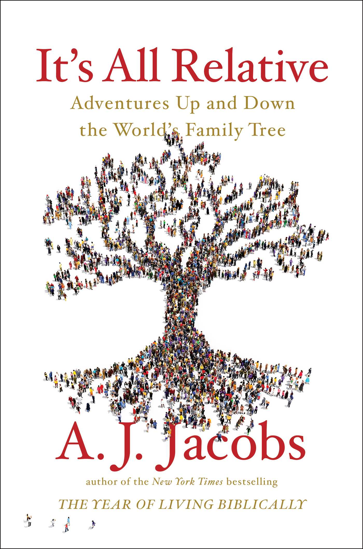 "Book #1 in 2018: ""It's All Relative"" by A.J. Jacobs"
