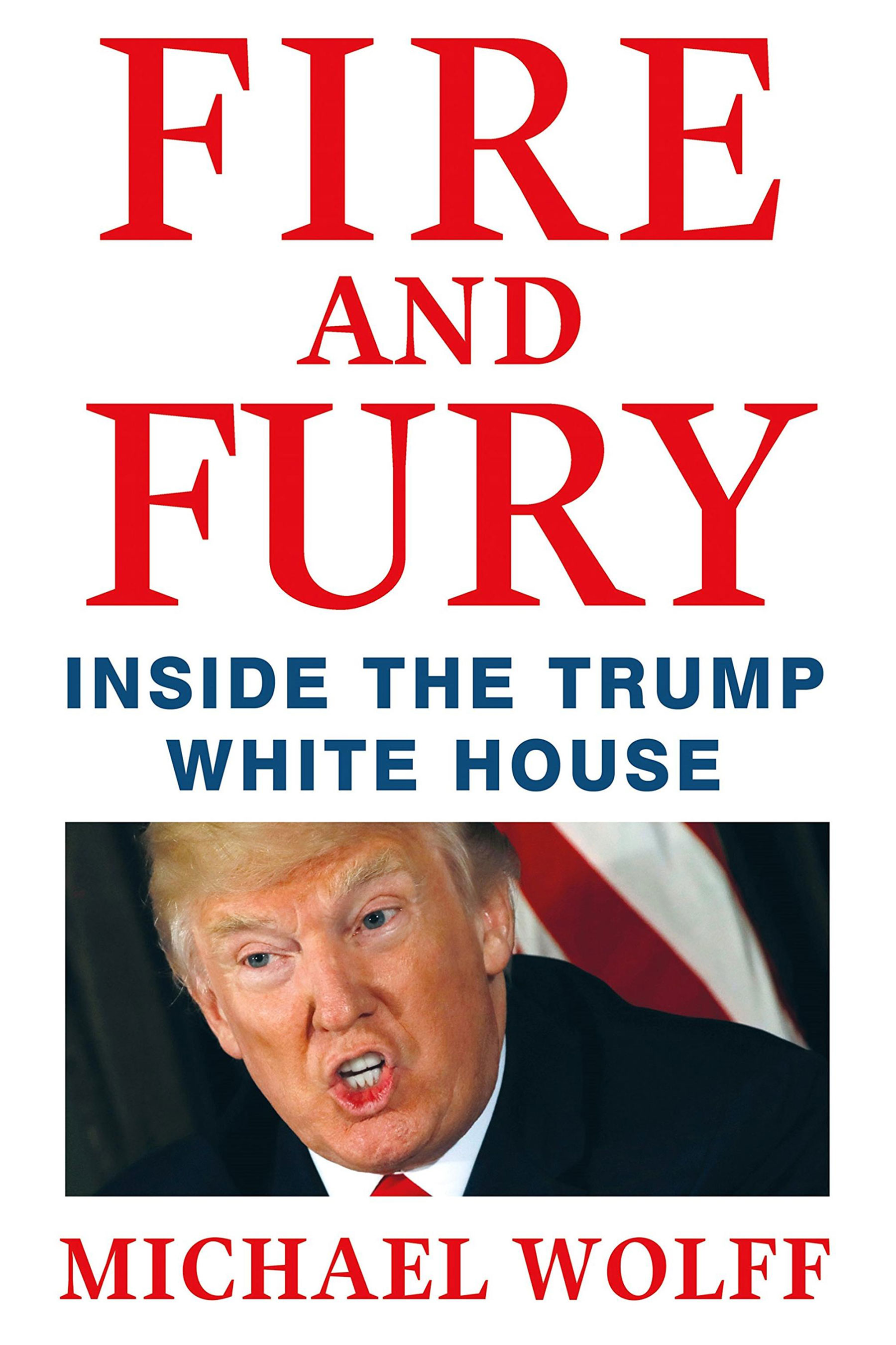 "Book #7 in 2018: ""Fire and Fury"" by Michael Wolff"