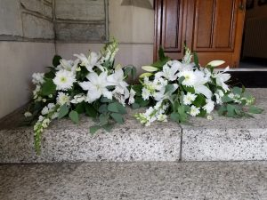 flowers from Chapel