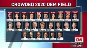 Democrats, first debate, June 2019